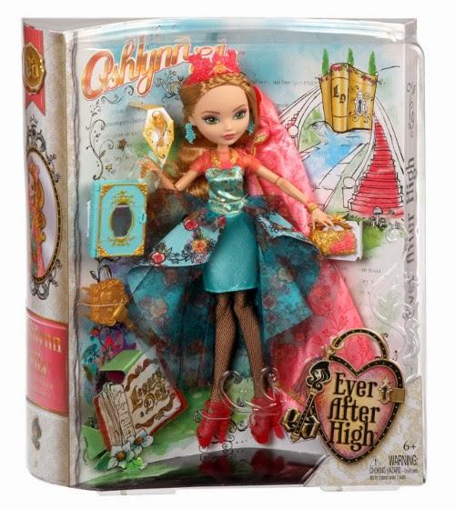 TOYS : JUGUETES - EVER AFTER HIGH  Legacy Day - Muñeca Ashlynn Ella  Producto Oficial | Mattel BJH49 | A partir de 6 años