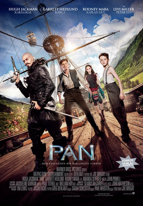 Pan (2015) Mkv Film indir