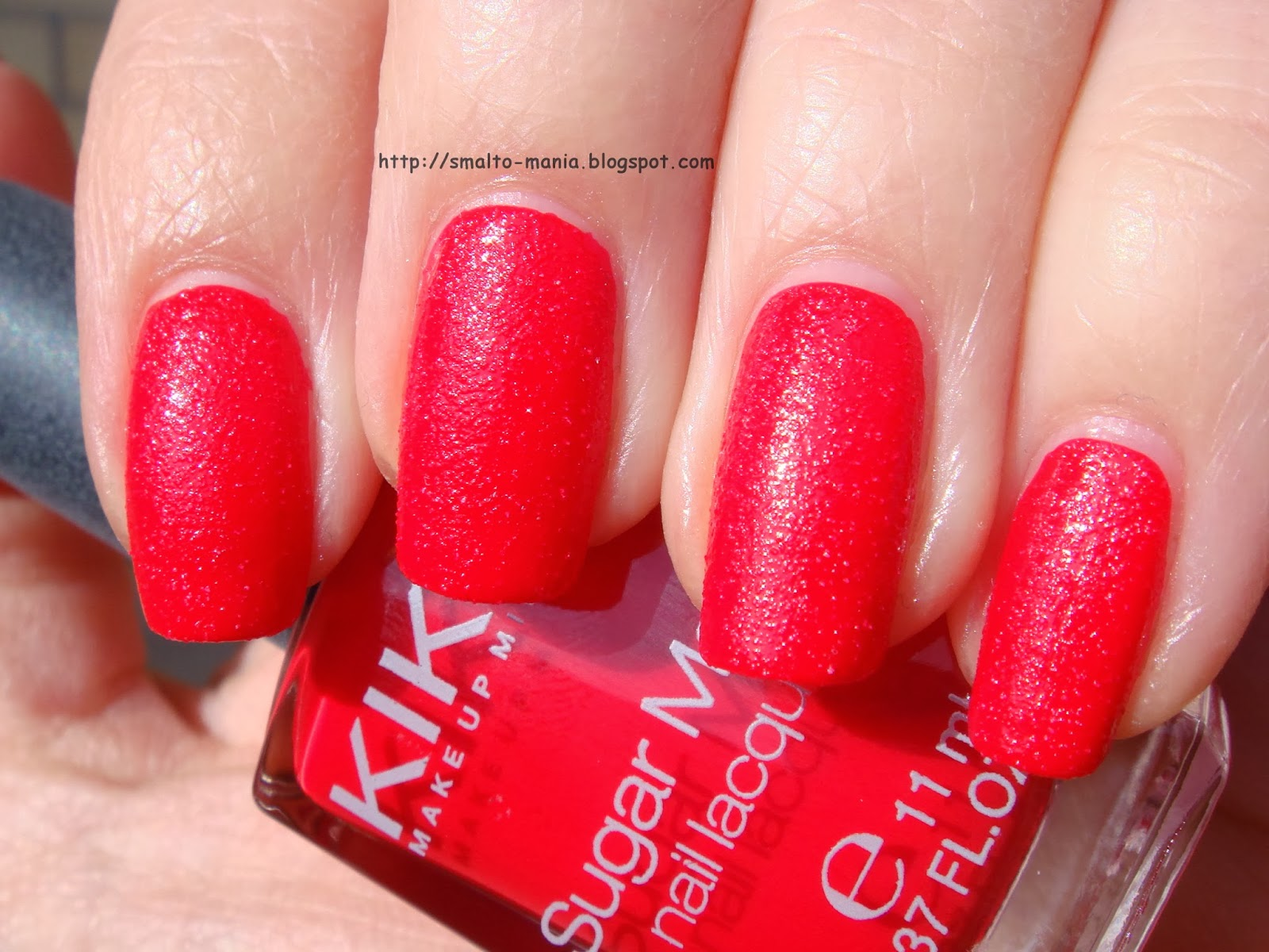 Kiko Sugar Mat n.632 Rosso