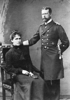 Heinrich de Prusse et Irene de Hesse et du Rhin