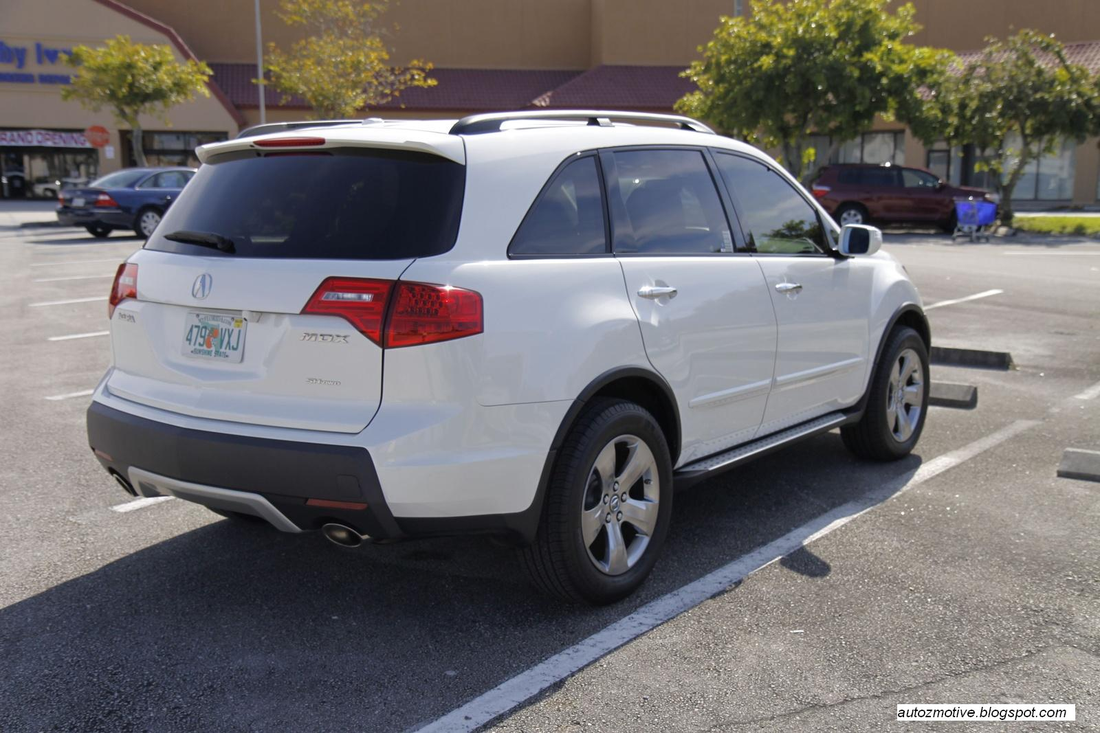 TOP SPEED LATEST CARS: 2008 Acura MDX