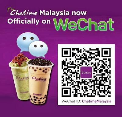 WeChatime 1 Million Cups Celebration, WeChat Malaysia, Chatime Malaysia, WeChat, Chatime, Malaysia, partnership, launch, wechat app, qr code, chatime qr code