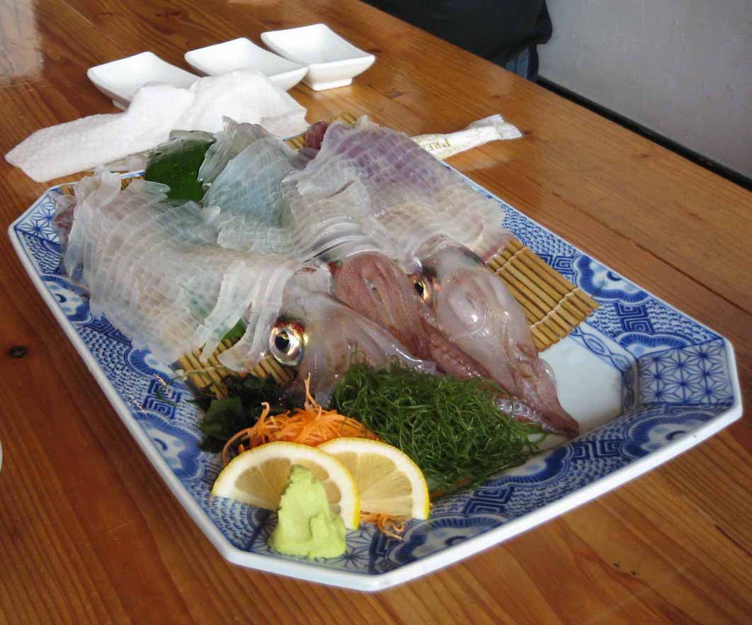 "Japanese ""Dancing Squid"" dish causing quite a stir ..."