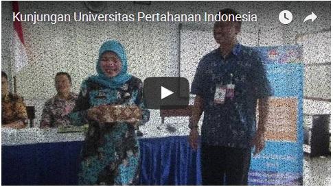 Kunjungan Universitas Pertahanan Indonesia