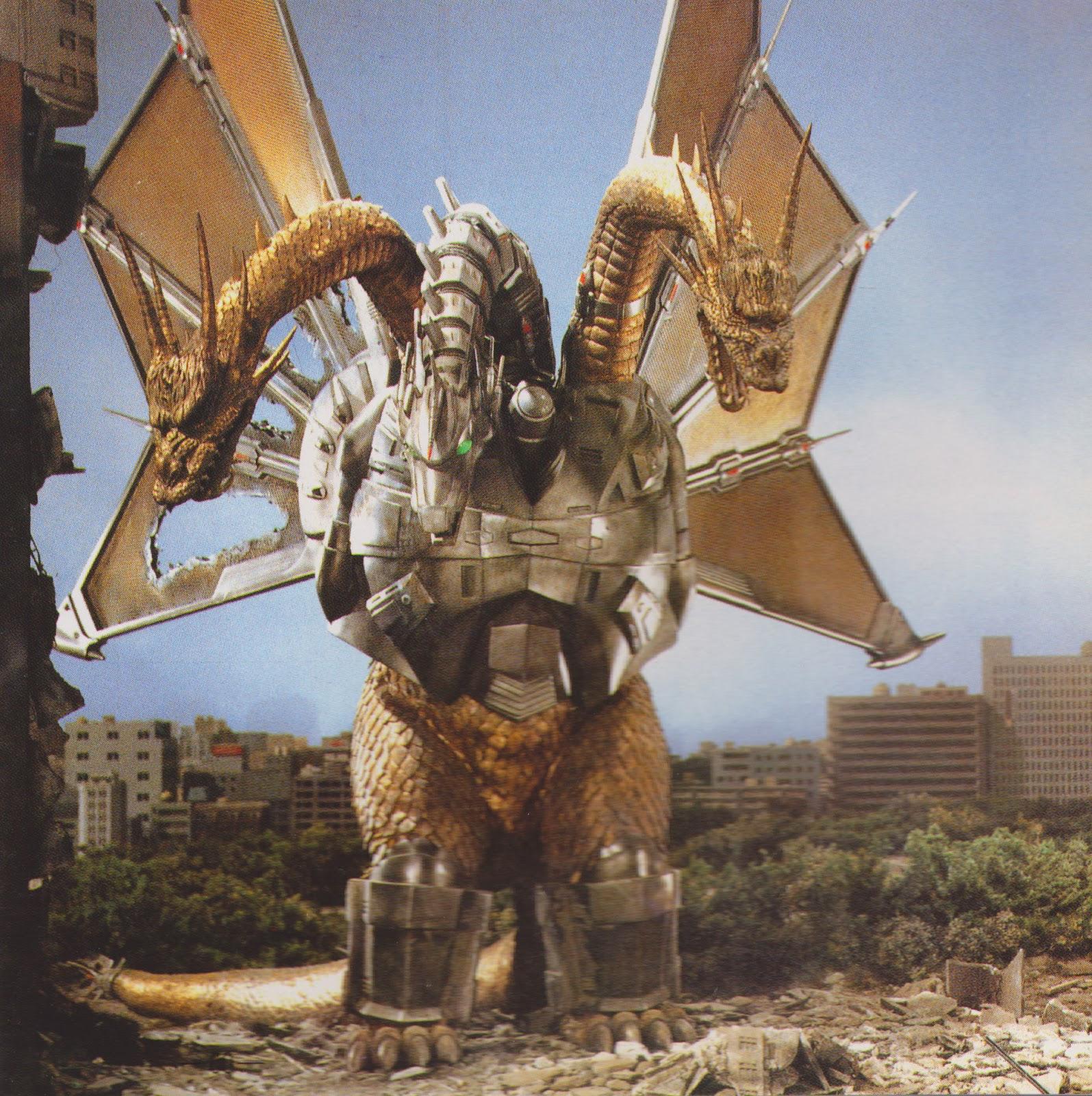 Godzilla Vs Mecha King Ghidorah Black Sun