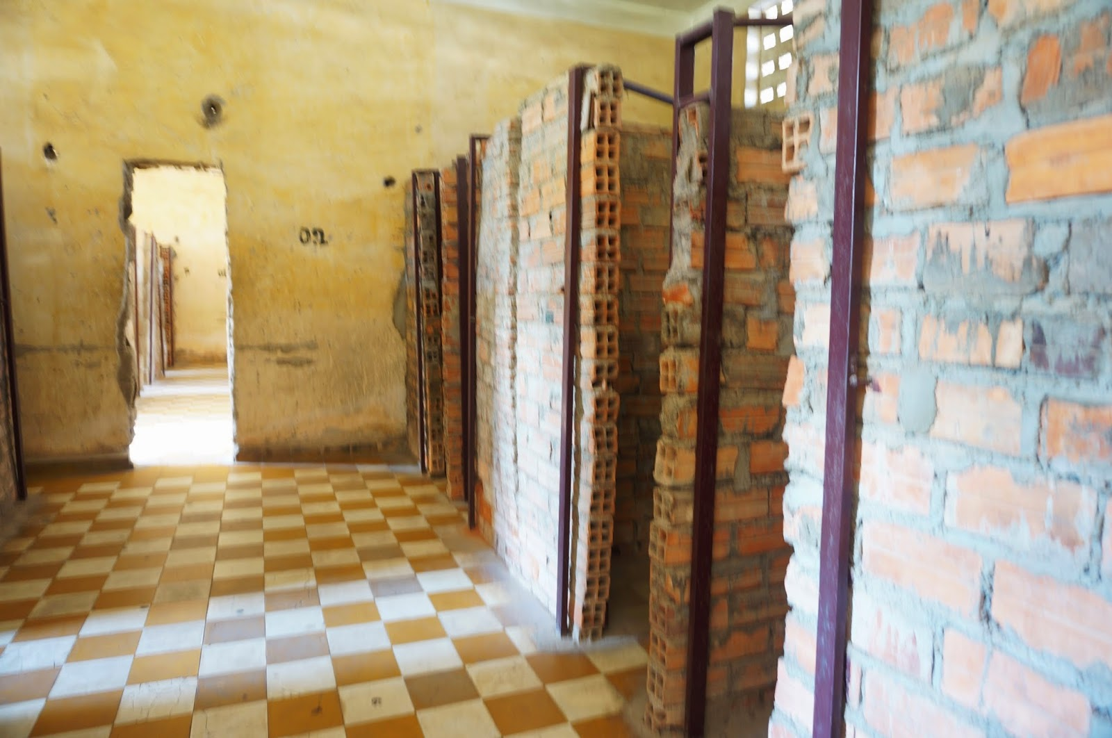 My Memory Keeper: Cambodia Day 4 : S21 Tuol Sleng Genocide