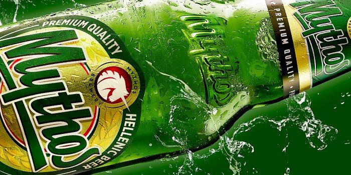 La birra Mythos