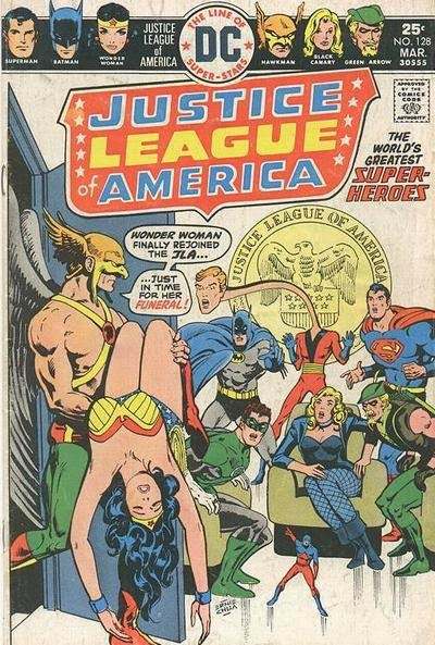 Justice League of America #128, Nekron