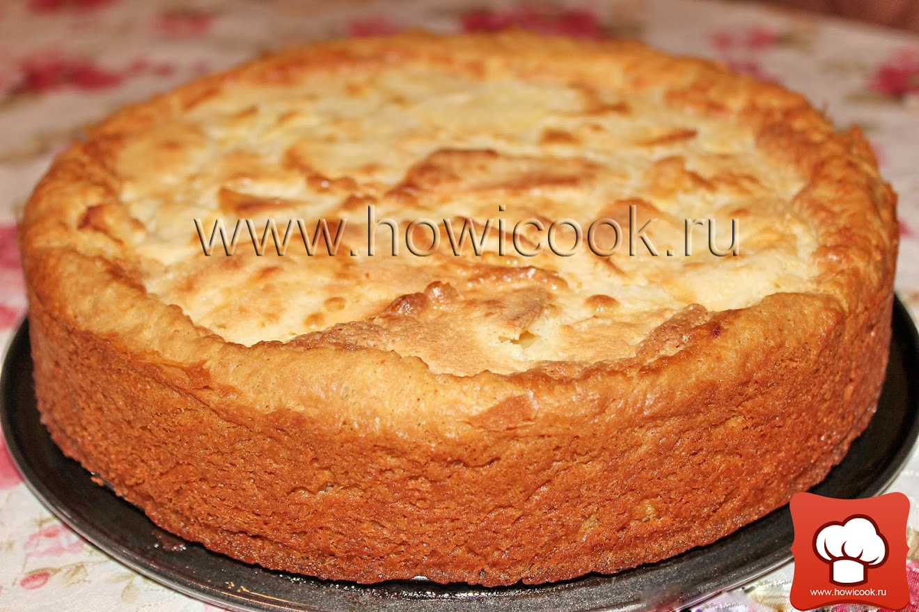 Рецепт яблочный пирог цветаевой