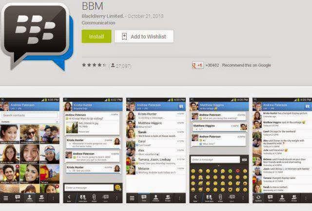 Cara Download BBM Untuk Android