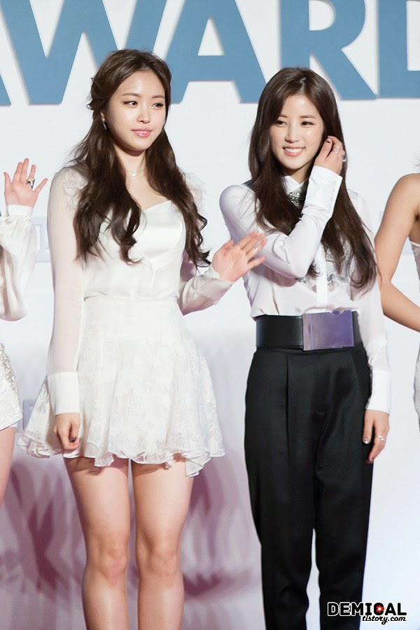 2014 Melon Music Awards Naeun Chorong
