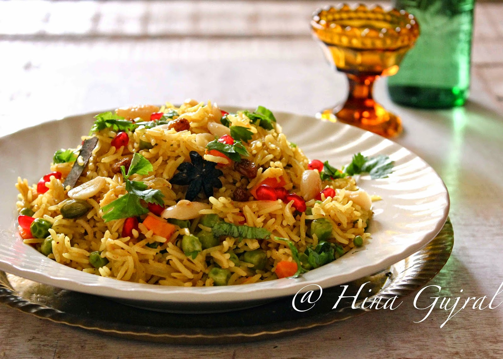 Mediterranean Brown Rice Pilaf is a simple and delicious vegetarian, gluten free recipe. Find out how to make it in few simple steps