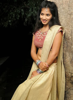 Anwika Pictures in Half Saree at Adi Lekka Audio Launch ~ Bollywood and South Indian Cinema Actress Exclusive Picture Galleries