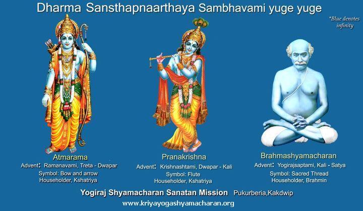 Sambhavami yuge yuge - Swayang Brahma Yogiraj Sri Shyama Charan Lahiri Mahasaya in Satya Yuga