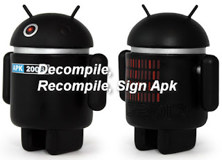 decompile recompile apk logo
