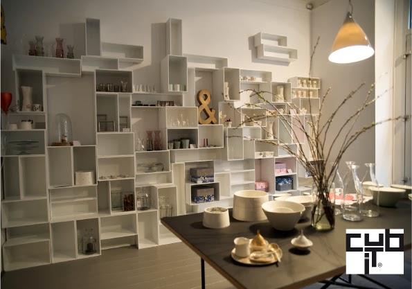 Cubit librerie modulari e low cost blog di arredamento e for Librerie modulari economiche