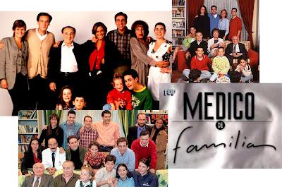 Reparto de la serie de Telecinco 'Médico de familia'