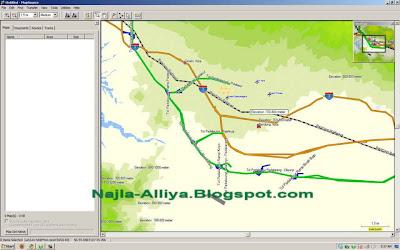Mapsource software handal untuk navigasi offline