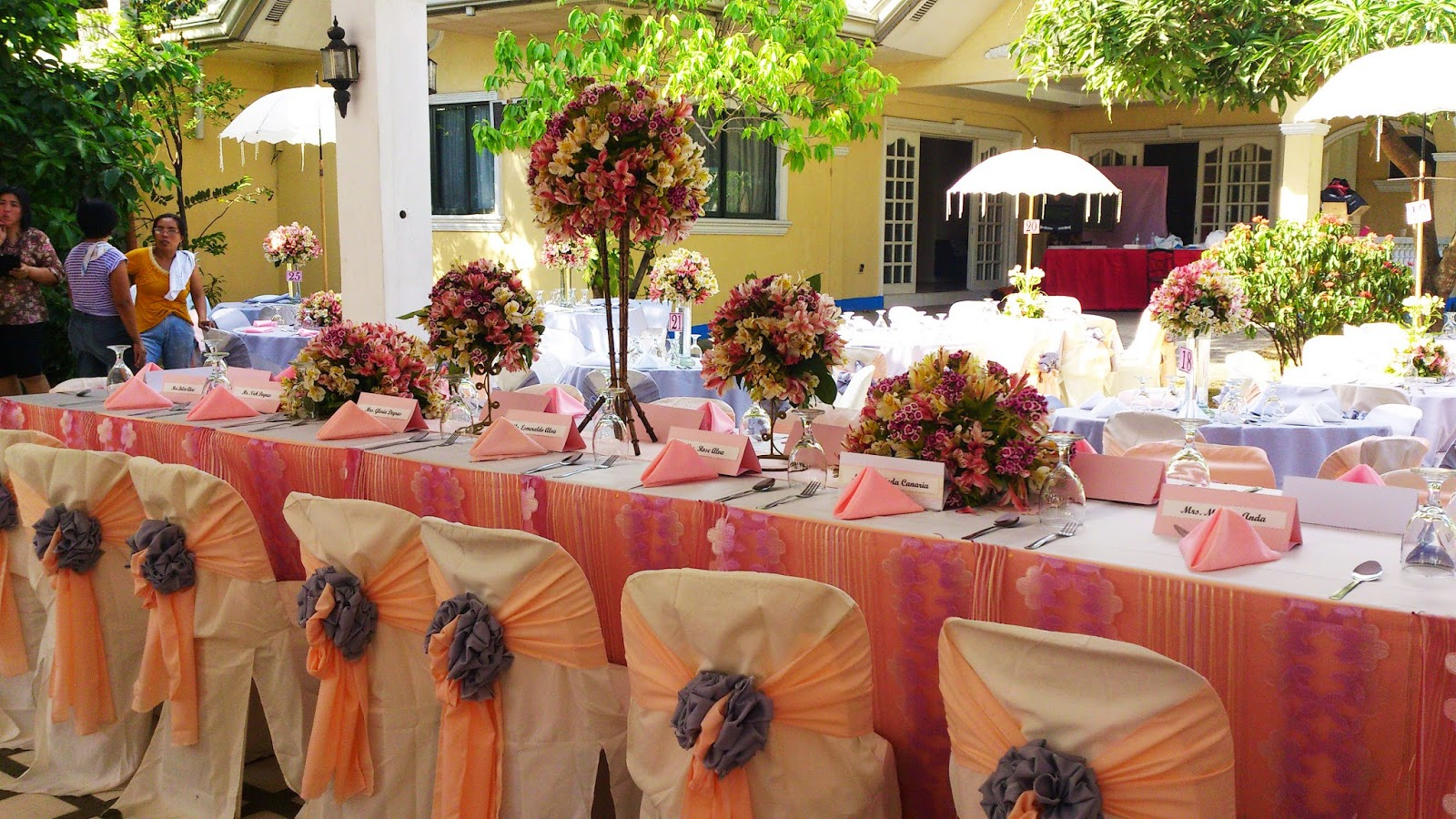 Myjoyful day myjoyful days catering services manila quotation from flower table centerpieces to backdrop we always make sure that we provide the best enjoy catering wedding package junglespirit Image collections