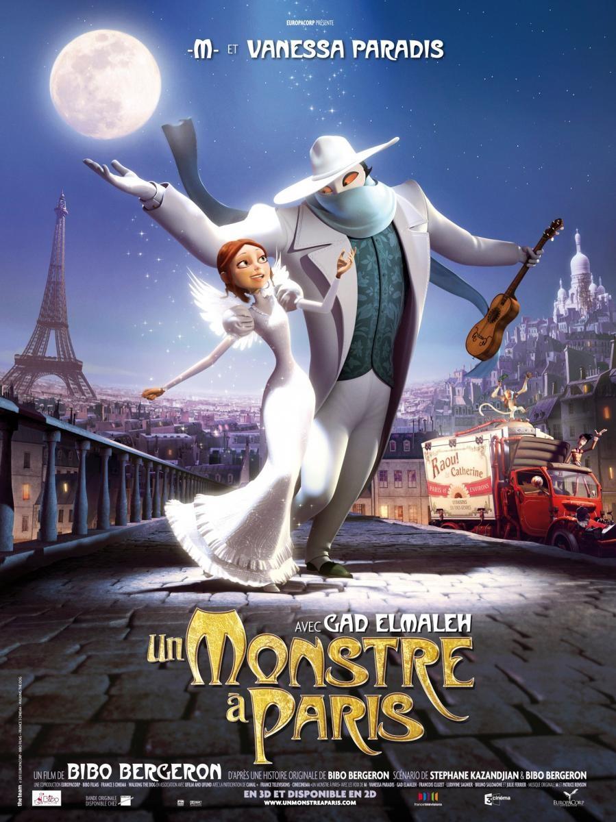 Un Monstruo En Paris [2012] [Dvdrip] [Latino] [1 Link]