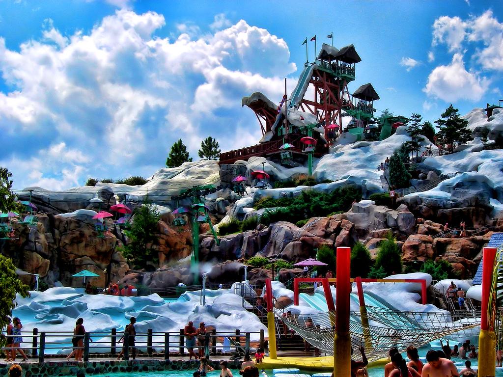 Blizzard Beach Florida Pictures