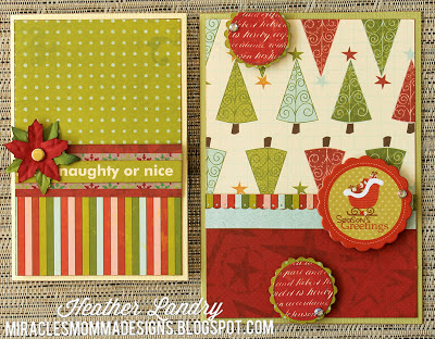 Christmas Cards_Poinsettia_Chipboard_Flower