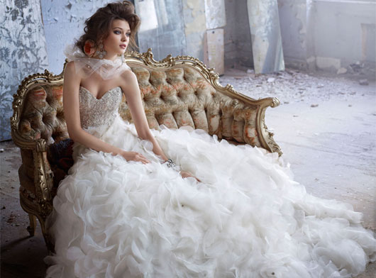 Lazaro Bridal Gowns Fall 2011