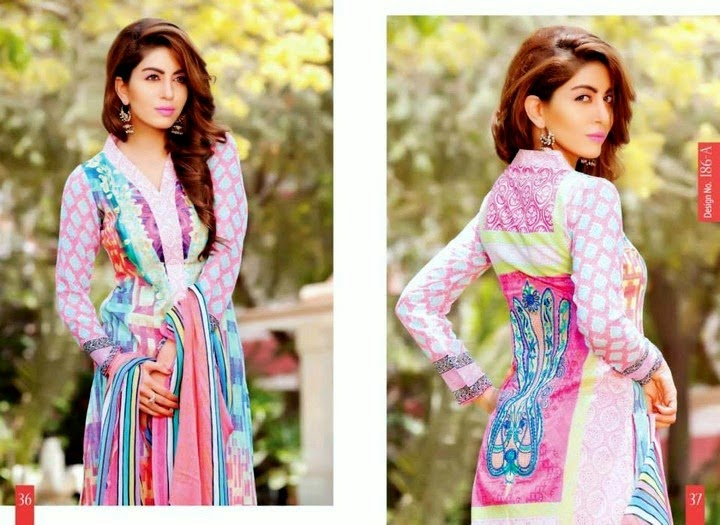 Latest Summer Lawn Collection