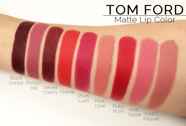 tom ford holiday 2014 matte lip colors review photos swatches all 8. Cars Review. Best American Auto & Cars Review