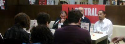 Javier Pérez Andújar & Percival Everett. La Central, 19/02/2013