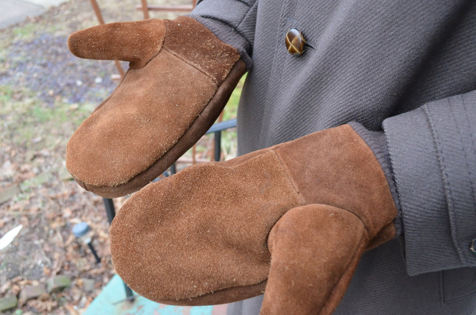 Leather Mitten Sewing Pattern Pattern for shoes/slippers