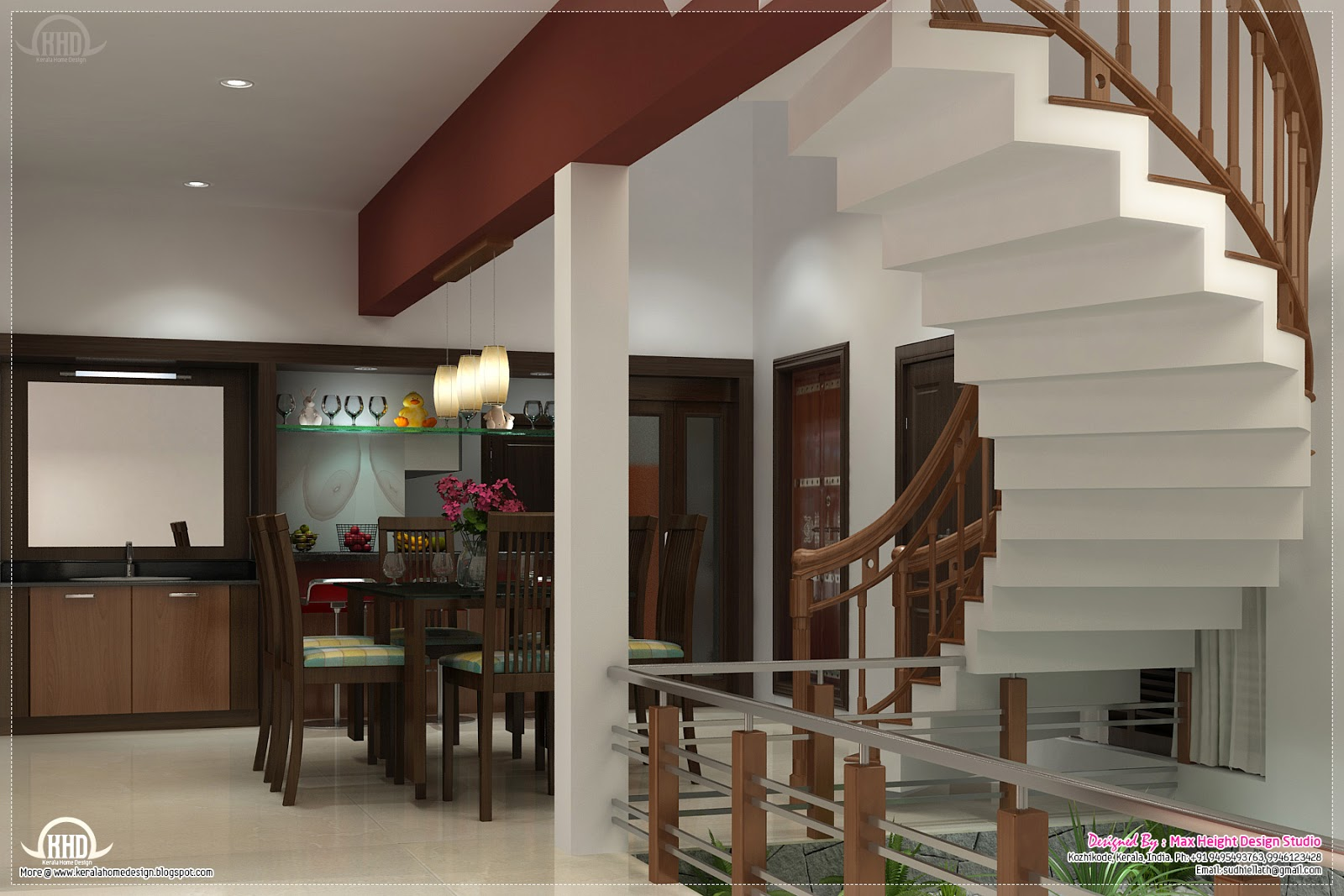 Home interior design ideas kerala home design and floor for New home inside design