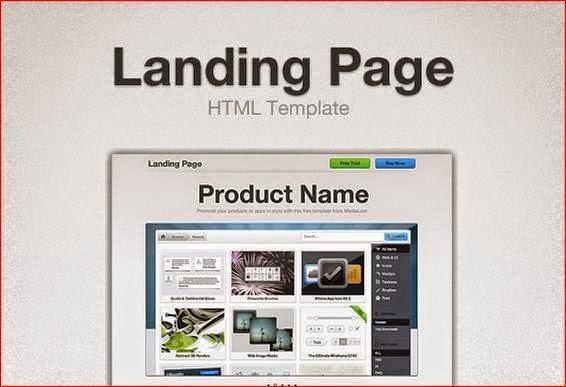 landing page cực đẹp