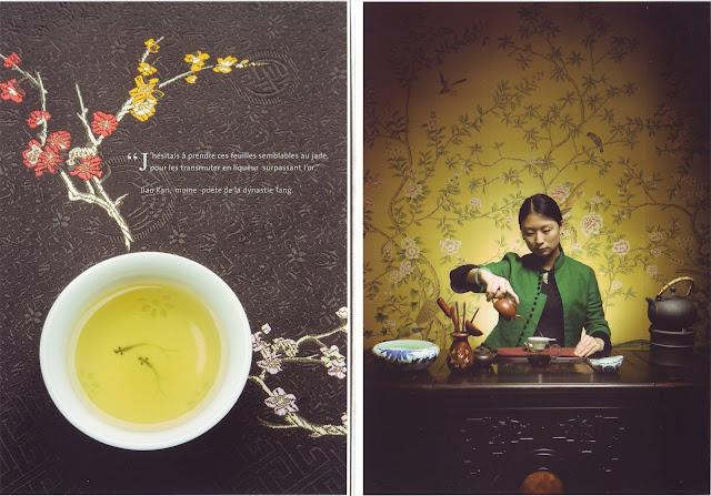 langage du thé
