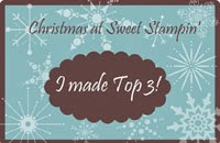 top3 chez Christmas at Sweet Stampin'