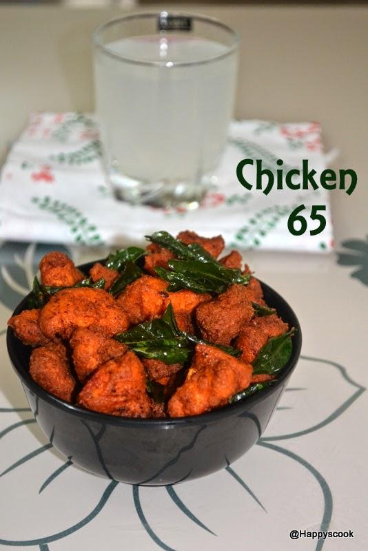 Chicken 65 Recipe Restaurant Styleboneless Happys Cook