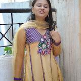 Usha Photos in Salwar Kameez at Gundello Guchi Guchi Champake Movie Press Meet 10