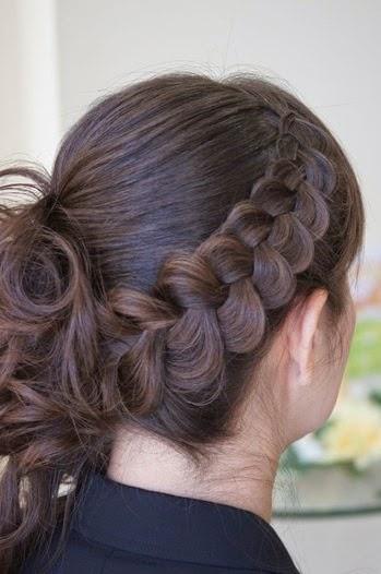 pancake braid hairstyle