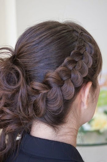 pancake braid hairstyle