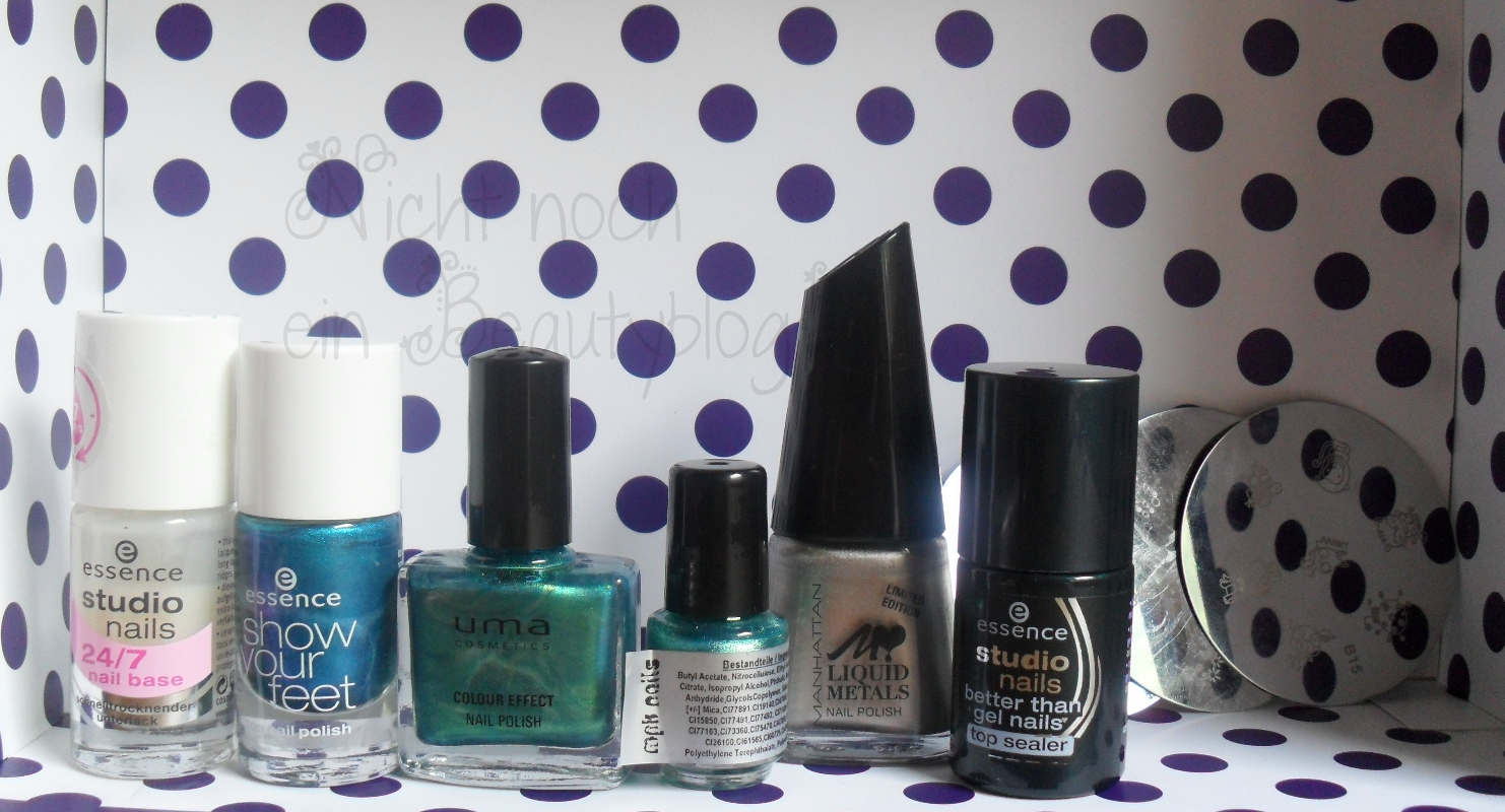 Nicht noch ein beautyblog spontane nagellack party for Party utensilien