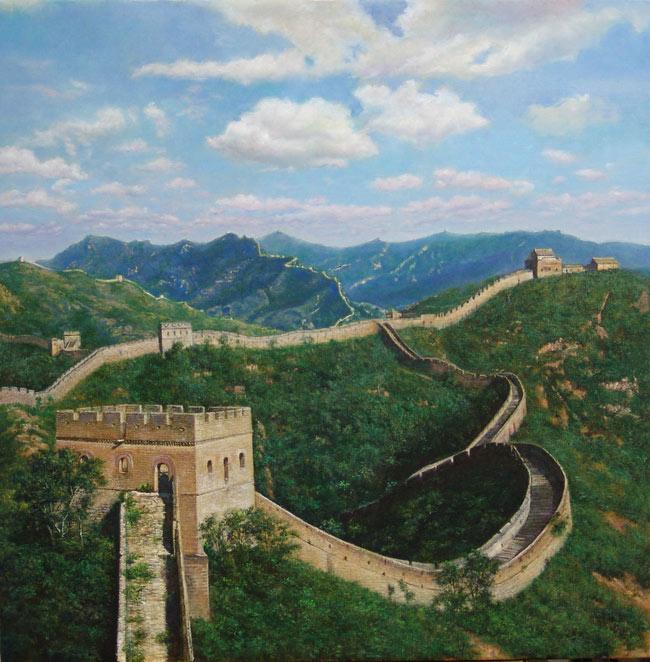 tembok raksasa cina atau tembok besar cina juga dikenal di cina dengan ...