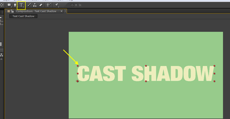 AE Text Cast Shadow 04