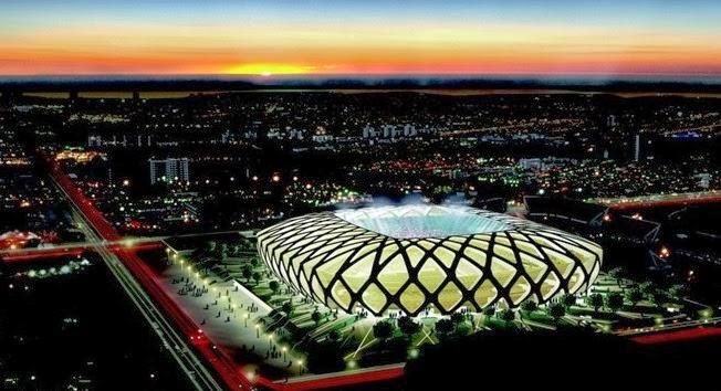 Brazilian World Cup Stadiums