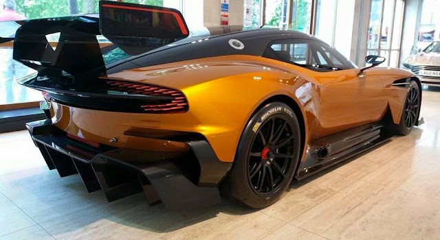 Only Aston Martin VULCAN in USA - Where To See It
