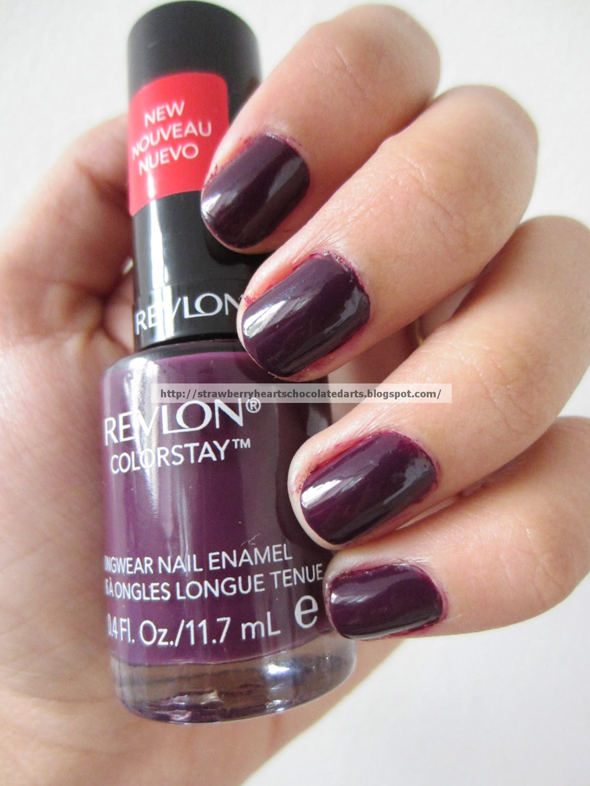 Strawberry Hearts Chocolate Darts: REVLON COLORSTAY NAIL POLISH ...