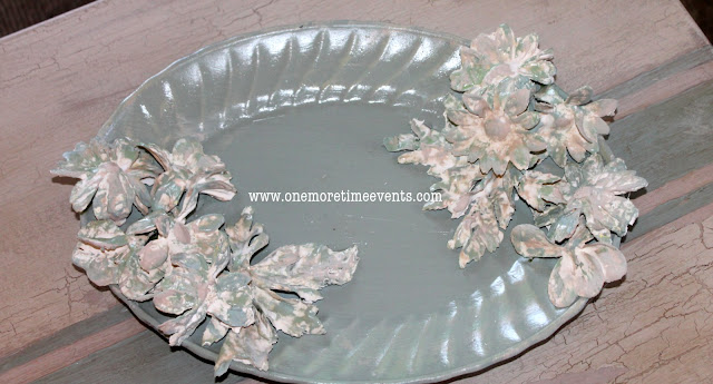 Plaster of Paris Flowers at One More Time Events.com