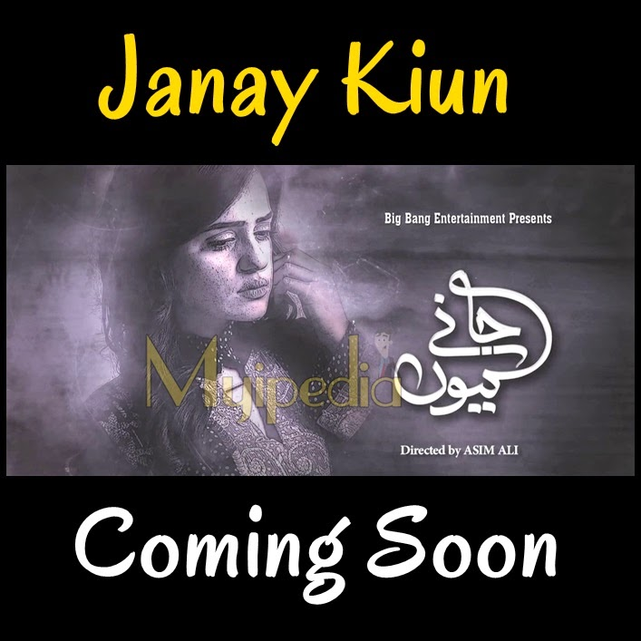 Janay Kiun coming soon on ary digital sumbul iqbal & junaid khan
