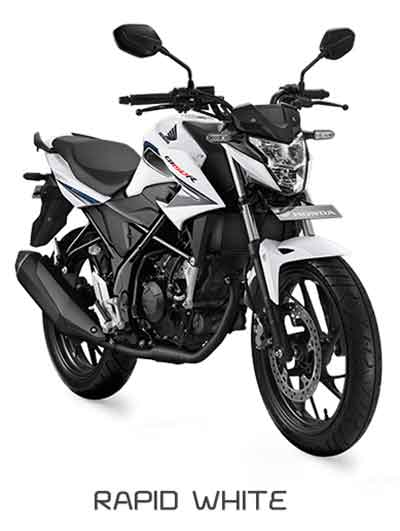 All New Honda CB150R Rapid White