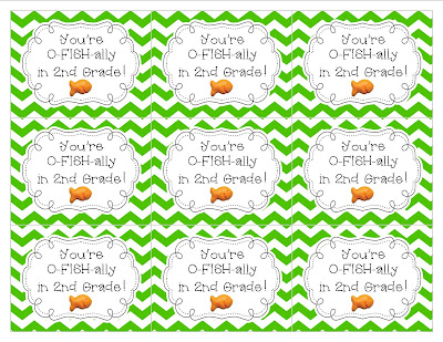 picture regarding O Fish Ally Printable named Very easily Adorable Education: Im O-FISH-ALLY within just 2nd Quality! FREEBIE