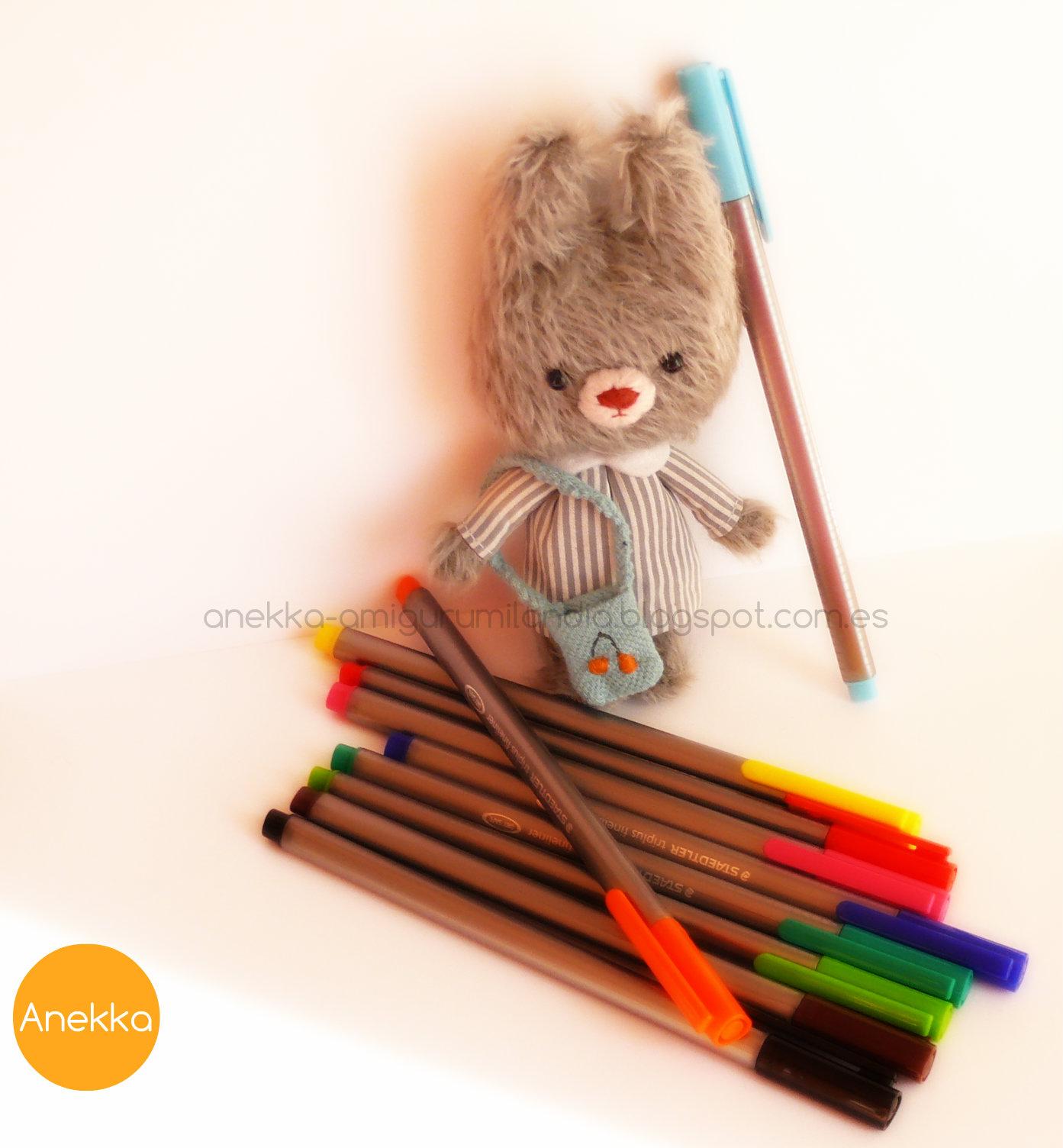 teddy bear anekka handmade